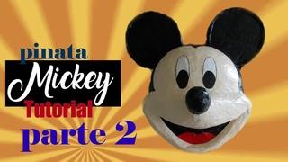 tutorial pinata Mickey parte 2