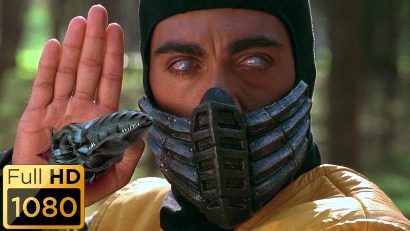 Джонни Кейдж против Скорпиона Смертельная битва